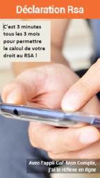 Déclaration trimestrielle Rsa en ligne !