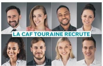 La Caf Touraine recrute… Parlez-en autour de vous