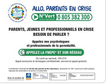 Plateforme nationale allo parents